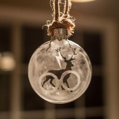 Harry Potter ornamento de la Navidad por CreativeHouseGifts en Etsy