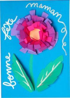 carte fleurie
