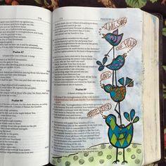 Psalm I will sing of Your love forever. Bible Study Journal, Book Journal, Art Journaling, Journals, Notebooks, Scripture Art, Bible Art, Bible Verses, Faith Bible