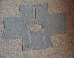 Tutorial vestido con jersey de punto con volantes y falda de tela-talla 3-6 meses ( I parte)|Bicarica|Ropita artesanal para bebés y niños/Ropa artesanal para bebé hecha en casa/Handmade baby clothes