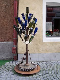 Bottle Tree....great for small area or patio