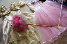 DIY::How to make a Princess Tulle Wand