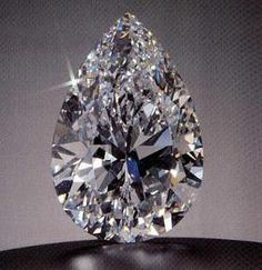 The Star of the Season: a pear-shaped stone of 100.10 carats, D-color and internally flawless, bought at Sotheby's in Geneva during May, 1995. The final price of US 16,548,750 paid by Sheikh Ahmed Fitaihi of Saudi Arabia.