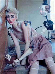 Mechanical Dolls : Vogue Italia Oct 2011