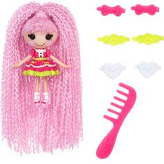 Mini Lalaloopsy Loopy Hair Doll, Jewel Sparkles