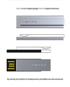 Metro wearable memory stick