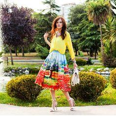 Bom dia Princesas! Um sábado colorido a todos! ADM: @diianasanntos #bemestaremoda #modagospel