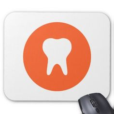 Dentist Logo Icon Mouse Pad - modern gifts cyo gift ideas personalize