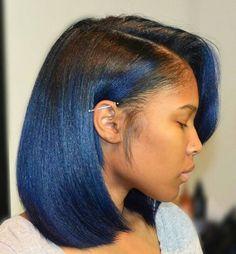 True blue! Female, Earrings, Black, Jewelry, Fashion, Jewellery Making, Moda, Stud Earrings, Black People