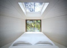 I am looking for a roofwindow above my stairwell. This is an interesting example.