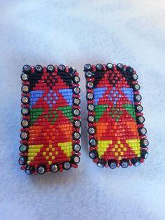 My beaded earrings (Kim McKay)