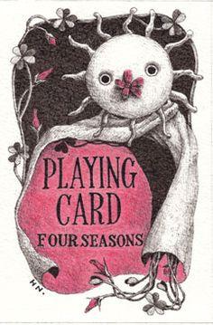 Hiromi Nishizaka - Four Seasons playing cards