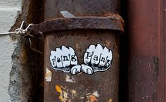 Street art = Creativity