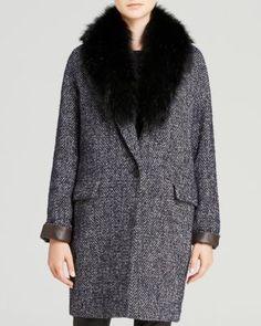 DL2 by Dawn Levy Kaba Tweed Coat | Bloomingdale's