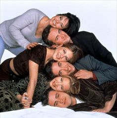 * Friends (1994 - 2004) NBC. Jennifer Aniston, Courteney Cox, Lisa Kudrow, Matt LeBlanc, Matthew Perry, David Schwimmer