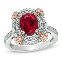 Here's a red ruby. For those with birthdays in July.
