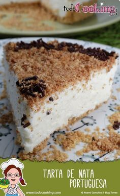 Conoce la famosa tarta de nata portuguesa, postre frío, sencillo y sorprendente…