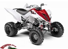 You can smoothly ride #Yamaha Yfm 7raw #Four_Wheeler_ATV whether it is mud, jungle or mountain because it has 686cc liquid-cooled w/fan, 4-stroke; SOHC, 4 valves engine, 102.0 mm Bore, 84.0 mm, Stroke, 5-speed w/reverse; wet multiplate clutch Transmission and much more. This nice looking red & white 2011 Yamaha Yfm 7raw Four Wheeler ATV is now available in Lewisville, TX, USA by North texas Yamaha for just $6499. So what are you waiting for? Just dial: (888) 792-8365 or logon…