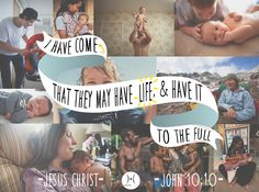 """""""I have come that they may have life, and have it to the full."""" John 10:10  God came to earth as a #human to give us each eternal life. Everyone we meet is called to live #life on earth to the fullest. #Live life to the full and protect even the tiniest humans created by God!  Share if you agree! — with Julie Merritt."""