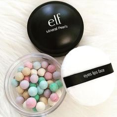 e.l.f. Cosmetics Mineral Pearls: Indulge in a sheer wash of color with illuminating, radiant Mineral Pearls, designed to complement any skin tone. Six multi-colored pearls blend together to mattify skin for a flawless, radiant look. Shop both shades at elfcosmetics.com