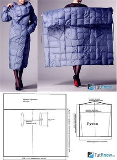 Amazing Sewing Patterns Clone Your Clothes Ideas. Enchanting Sewing Patterns Clone Your Clothes Ideas. Sewing Dress, Dress Sewing Patterns, Sewing Clothes, Clothing Patterns, Fashion Sewing, Diy Fashion, Blanket Coat, Make Your Own Clothes, Coat Patterns