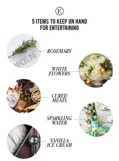 5 Items to Keep on Hand for Entertaining #theeverygirl