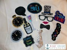 New Years Photo Props, $4.50
