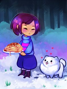 Undertale is so adorable! by paychiri.