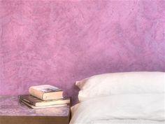 Kalkputz für natürliches Schlafen und Wohnen (Foto Hundertkalk)