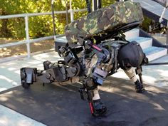 he's carrying 2 million tons w/the help of the exoskeleton