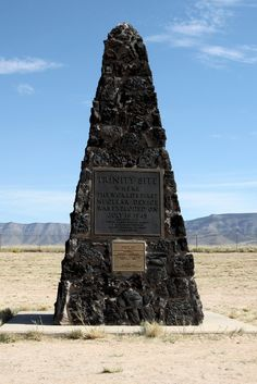 Trinity Site, New Mexico - where the world's first Nuclear Device was exploded on July 16, 1945
