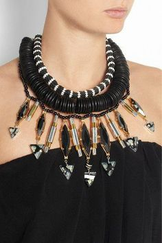 << serious statement necklace >>