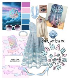 """Head in the clouds"" by zebralover-333 ❤ liked on Polyvore featuring Casetify, self-portrait, Semilla, Brunello Cucinelli, Tildon, BaubleBar and Elise M."