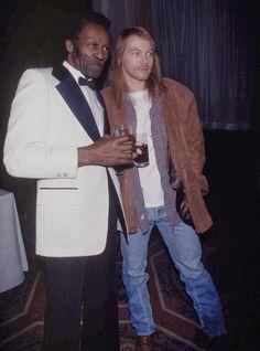Chuck Berry & Axl Rose.