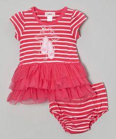 Look at this #zulilyfind! Pink Ballet Tutu Dress & Bloomers - Infant by Unik #zulilyfinds