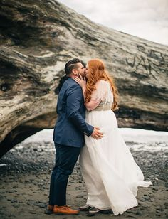 chelsea + zack | Leona Gown and Trickling Capelet from @BHLDN | #BHLDNbride