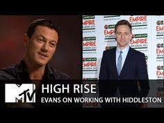 Luke Evans Talks Working With Tom Hiddleston On High Rise - YouTube