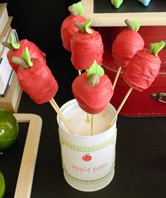 Just call me Martha: Back to school apple party for Imara