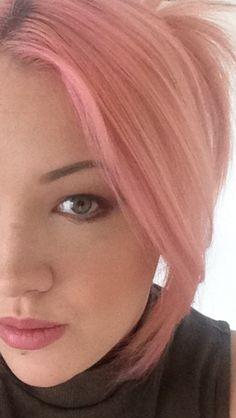 Maria nila pink pop hair colour refresh Pop Hair, Hair Heaven, Hair Colour, Color, Hair Beauty, Hairstyle, Pink, Pony Tails, Hair Makeup