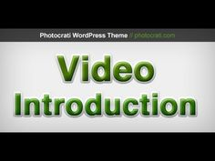 Easily Create A Video Introduction