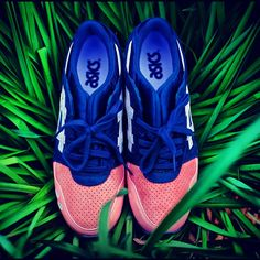 Ronnie Fieg x Asics - Salmon Toes. I need these!!