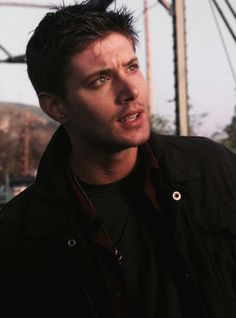 Dean - pilot... (Can't understand why anyone would get addicted to this show....)  Sarcasm, btw :D