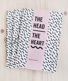 SANDY VAN HELDEN | THE HEAD/THE HEART (ZINE)