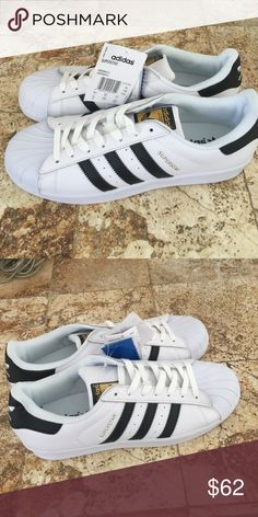 New adidas superstar size 10 New adidas superstar size 10 color white Adidas Shoes Athletic Shoes