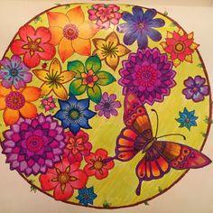 Colouring Gallery Secret Garden Coloring BookColouring TechniquesJohanna BasfordColoring