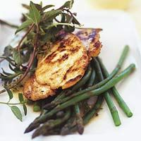 For a fast yet flashy chicken dinner recipe, this one fits the bill. Buttery white wine sauce and freshly snipped herbs dress up thin cuts of chicken breast, cooked to perfection.