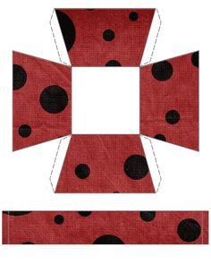 Ladybug Basket Free To Use