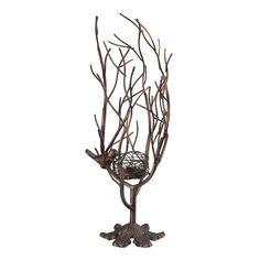 Sterling Industries Min 2-Birds Nest Candle Holder