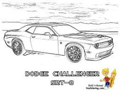 Image Result For Dodge Charger Coloring Pages