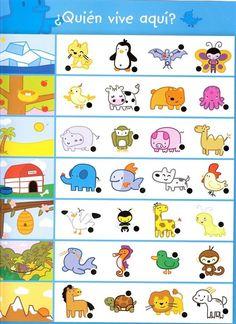 animal worksheet for kindergarten